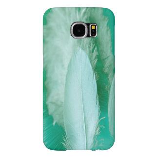 緑の羽の箱 SAMSUNG GALAXY S6 ケース