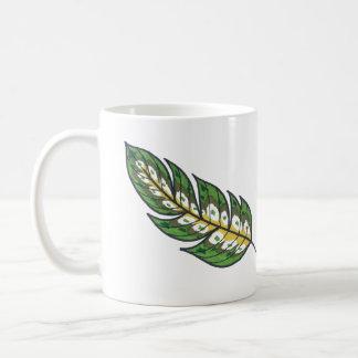 緑の羽 コーヒーマグカップ