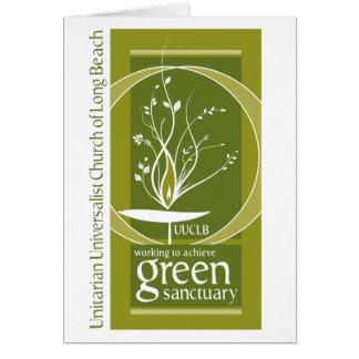 緑の聖域の挨拶状 カード