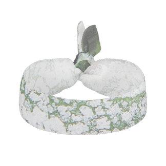 緑の背景のヘアタイの氷 ヘアタイ
