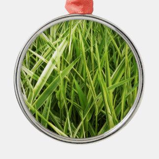 緑の自然は自然な緑の木の地球のBeaut葉が出ます メタルオーナメント