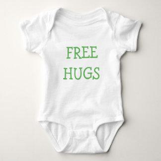 緑の自由な抱擁 ベビーボディスーツ