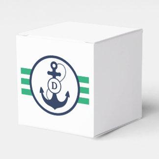 緑の航海のなモノグラム フェイバーボックス