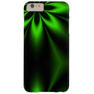 緑の花の破烈のフラクタル BARELY THERE iPhone 6 PLUS ケース
