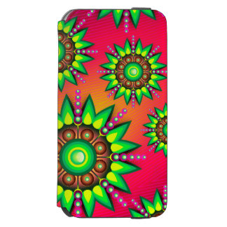 緑の花の箱 INCIPIO WATSON™ iPhone 5 財布型ケース