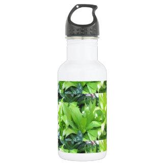 緑の花園: エレガントな春の花 ウォーターボトル