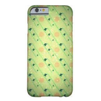 緑の花柄Iの電話6箱 BARELY THERE iPhone 6 ケース
