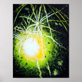 緑の花火 ポスター