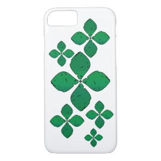 緑の花 iPhone 8/7ケース