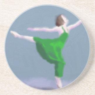 緑の芸術のバレリーナ コースター