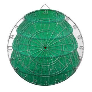 緑の芸術ガラスのつぼ ダーツボード