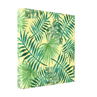 緑の草木 キャンバスプリント