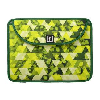 緑の葉の陰 MacBook PROスリーブ