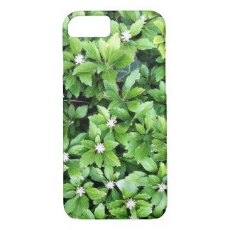 緑の葉のiPhoneの箱 iPhone 8/7ケース