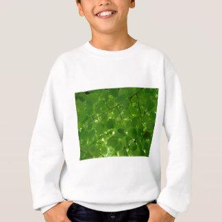 緑の葉 スウェットシャツ