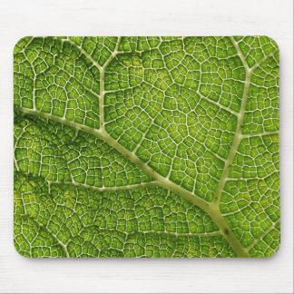 緑の葉。 デジタルArt. マウスパッド