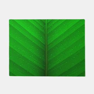 緑の葉 ドアマット