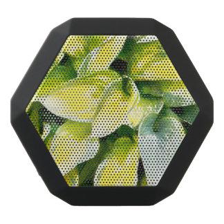 緑の葉 ブラックBluetoothスピーカー