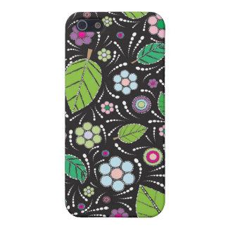 緑の葉 iPhone 5 ケース