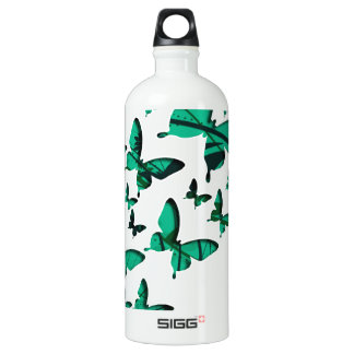 緑の蝶切り出し ウォーターボトル
