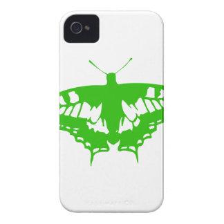 緑の蝶 Case-Mate iPhone 4 ケース