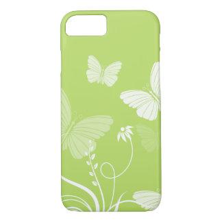 緑の蝶iPhone 7の箱 iPhone 8/7ケース