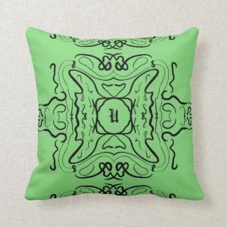 緑の表現 クッション