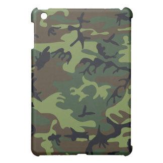 緑の迷彩柄のSpeck Fitted™Hardの貝のiPadの箱 iPad Miniケース