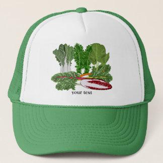 緑の野菜の恋人の野菜 キャップ