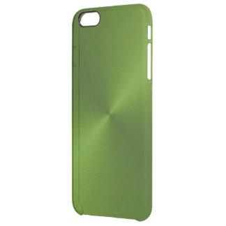 緑の金属iPhone6ケース クリア iPhone 6 Plusケース