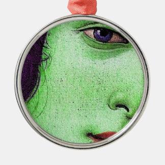 緑の金星 メタルオーナメント