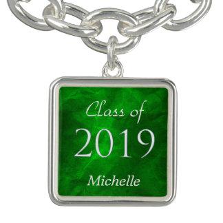 緑の銀の卒業生2019年 ブレスレット
