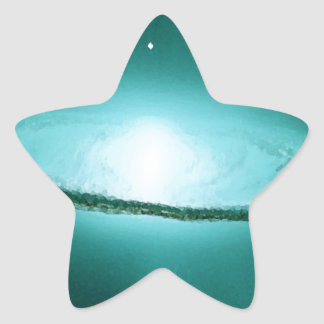 緑の銀河系 星シール