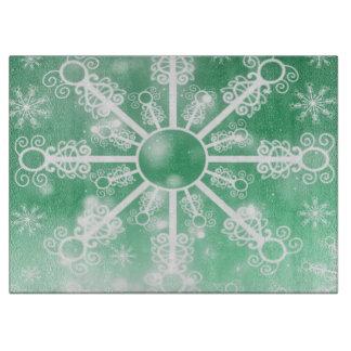 緑の雪片 カッティングボード