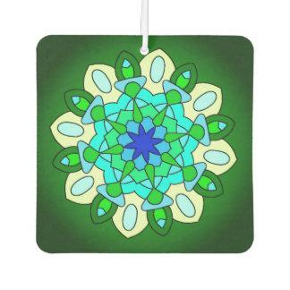 緑の青緑の星車の芳香剤 カーエアーフレッシュナー