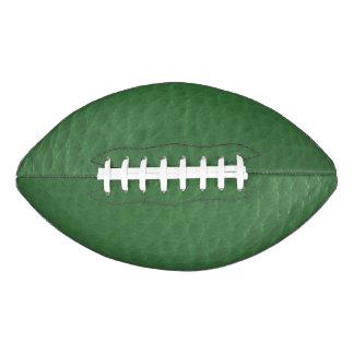 緑の革デザイン アメリカンフットボール