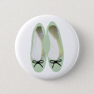 緑の靴 5.7CM 丸型バッジ