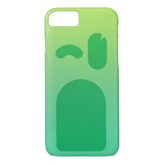 緑の顔PhoneCase iPhone 8/7ケース