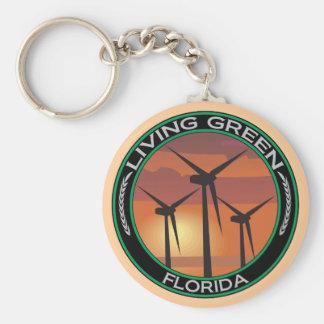 緑の風フロリダ キーホルダー