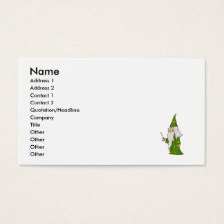 緑の魔法使い 名刺
