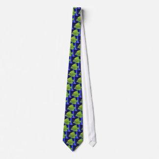 緑の魚 ネクタイ