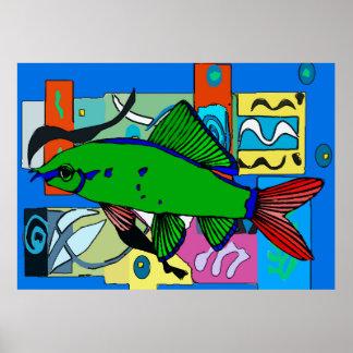 緑の魚、Aquiam ポスター