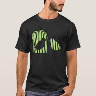 緑の鳥かご Tシャツ