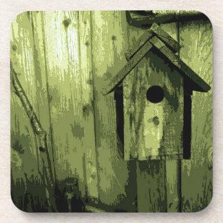 緑の鳥の家 コースター