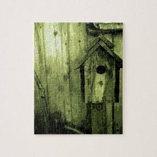 緑の鳥の家 ジグソーパズル