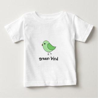 緑の鳥 ベビーTシャツ