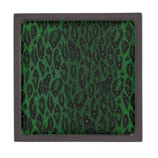 緑の黒いチータの星 ギフトボックス