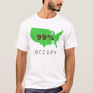 緑の99% Tシャツ