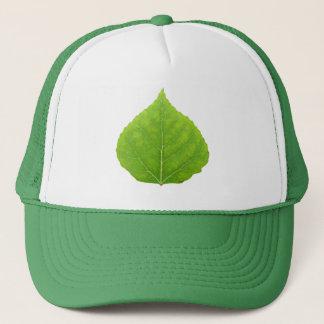 緑の《植物》アスペンの葉#11 キャップ