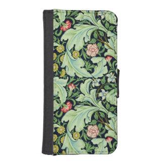 緑のAcanthusのiPhone 5/5Sのウォレットケース iPhoneSE/5/5sウォレットケース